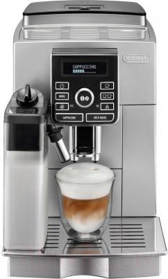 Кофемашина DeLonghi ECAM 25.462.S - вид спреди