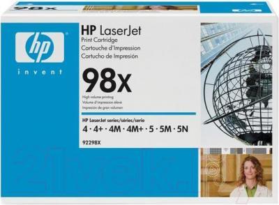 Тонер-картридж HP 98X (92298X) - общий вид