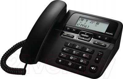 Проводной телефон Philips CRD200B/51 - общий вид