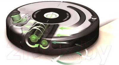 Робот-пылесос iRobot Roomba 631 - принцип работы