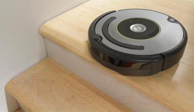 Робот-пылесос iRobot Roomba 631 - обнаружение препятствий