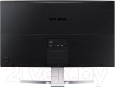 Монитор Samsung S27D590CS - вид сзади