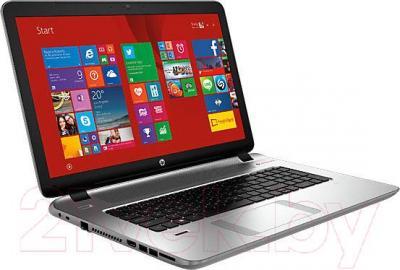 Ноутбук HP ENVY 17-k152nr (K1X63EA) - вполоборота