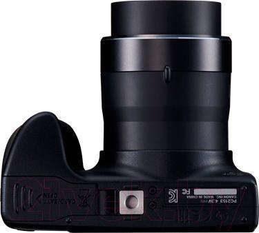 Компактный фотоаппарат Canon PowerShot SX400 IS (черный) - вид снизу