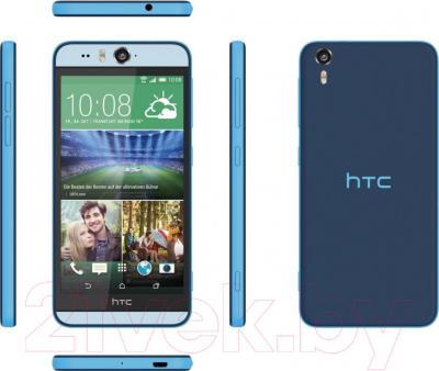 Смартфон HTC Desire Eye (синий) - обзор панелей