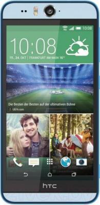Смартфон HTC Desire Eye (синий) - общий вид
