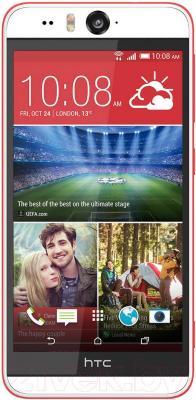 Смартфон HTC Desire Eye (бело-красный) - общий вид