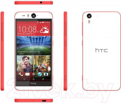 Смартфон HTC Desire Eye (бело-красный) - обзор панелей