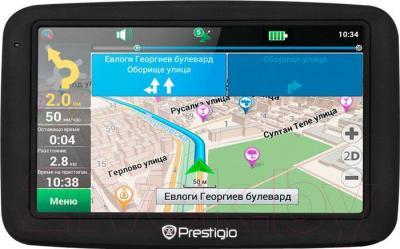 GPS навигатор Prestigio GeoVision 5055 - общий вид