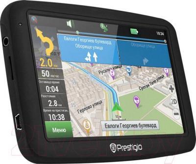 GPS навигатор Prestigio GeoVision 5055 - вполоборота