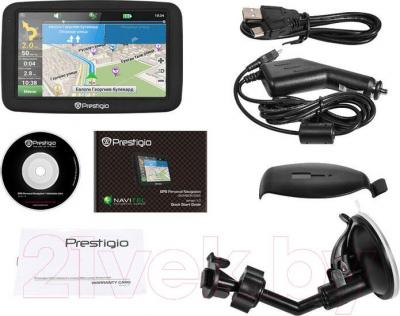 GPS навигатор Prestigio GeoVision 5055 - комплектация