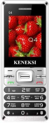 Мобильный телефон Keneksi Q4 (черный) - общий вид