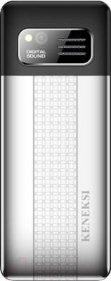 Мобильный телефон Keneksi Q4 (черный) - вид сзади