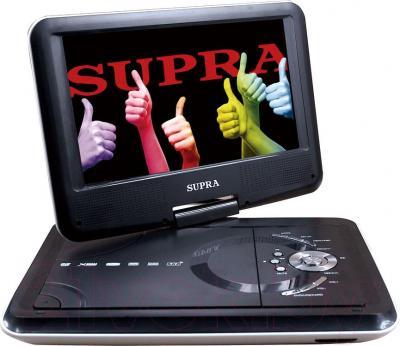 Портативный DVD-плеер Supra SDTV-925UT (Gray) - общий вид