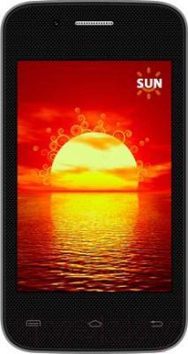 Смартфон Keneksi Sun (черный) - общий вид