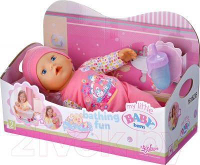 Кукла-младенец Zapf Creation My little Baby Born Веселое купание (819722) - упаковка