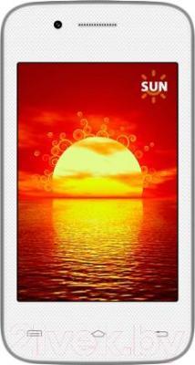 Смартфон Keneksi Sun (белый) - общий вид