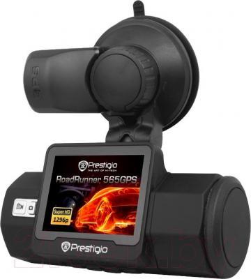 Автомобильный видеорегистратор Prestigio RoadRunner 565GPS - дисплей