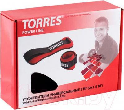 Утяжелитель Torres PL60173 (3кг) - в упаковке