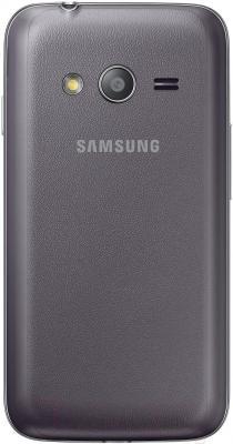 Смартфон Samsung Galaxy Ace 4 Lite / G313H (серый) - вид сзади