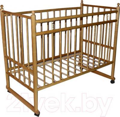 Детская кроватка УМК Василёк 7 (светлая) - общий вид