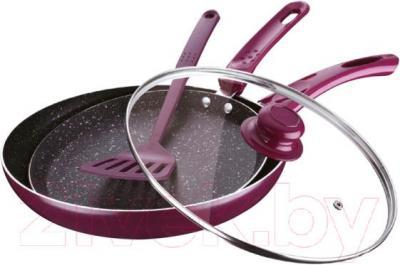 Набор кухонной посуды Peterhof PH-15449 - в оригинале сковорода черного цвета