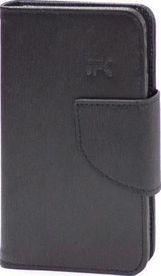 Чехол-книжка JFK 4.3-4.8 Westham (Black) - общий вид