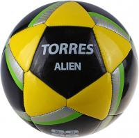 Футбольный мяч Torres Alien Black F30305B (Black-Yellow-Green) -