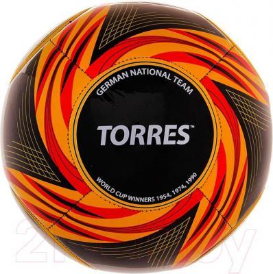 Футбольный мяч Torres WC2014 Germany (Black) - общий вид