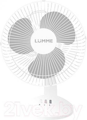 Вентилятор Lumme LU-107 (White-Gray) - общий вид