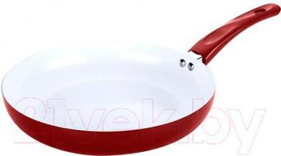 Сковорода Lumme LU-489 (бургунди) - общий вид