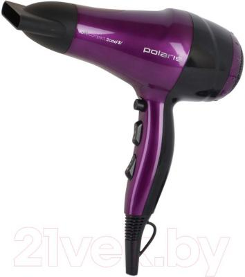 Фен Polaris PHD 2077i (Purple-Black)