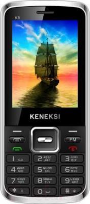 Мобильный телефон Keneksi K6 (черный) - общий вид
