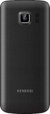Мобильный телефон Keneksi K6 (черный) - вид сзади