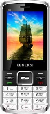 Мобильный телефон Keneksi K6 (белый) - общий вид