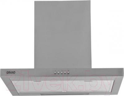 Вытяжка Т-образная Grand Medina (60, нержавеющая сталь) - вид спереди