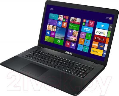 Ноутбук Asus X751LN-TY058D - вполоборота