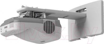 Проектор Epson EB-595Wi (в комплекте с ELPDC20) - вид сбоку