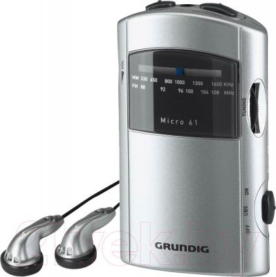 Радиоприемник Grundig Micro 61 - общий вид