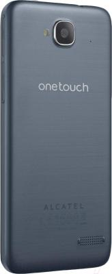 Смартфон Alcatel One Touch Idol 2 Mini 6016D (сланец) - вид сзади