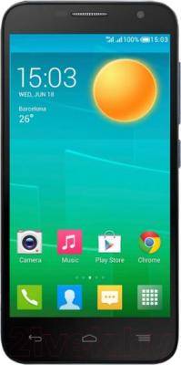 Смартфон Alcatel One Touch Idol 2 Mini 6016D (сланец) - общий вид