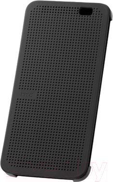 Чехол-книжка HTC Dot View Flip Case (серый) - общий вид