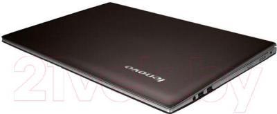 Ноутбук Lenovo Z710 (59426151) - в сложенном виде