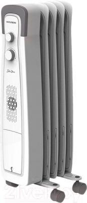 Масляный радиатор Hyundai H-HO1-05-UI550 - общий вид