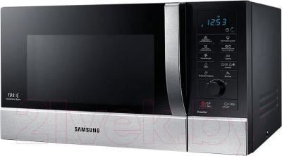 Микроволновая печь Samsung CE107MNSTR - вид сбоку