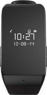 Многофункциональные часы MyKronoz ZeWatch 2 (черный) - фронтальный вид