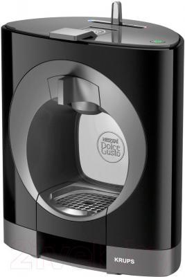 Капсульная кофеварка Krups Dolce Gusto Oblo Black (KP110810) - общий вид