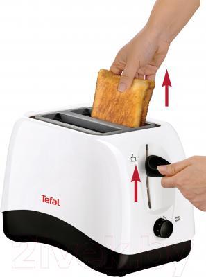 Тостер Tefal TT130130 - в работе