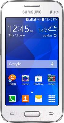 Смартфон Samsung Galaxy Ace 4 Lite Dual / G313H/DS (белый) - общий вид