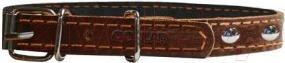 Ошейник Collar 2276 (коричневый, с украшением) - общий вид
